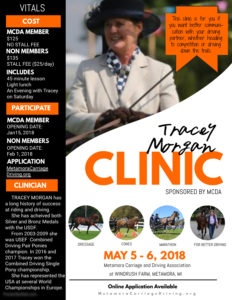 Tracey Morgan Clinic Spring 2018 Final